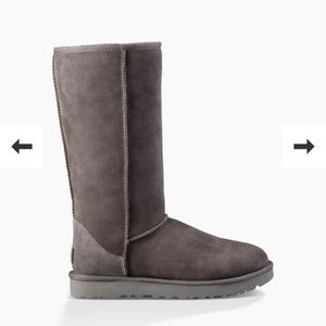 Grey Ugg Boots (size 8)